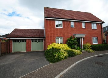 Thumbnail 4 bed detached house for sale in Upgate, Tharston, Norwich