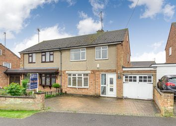 Thumbnail 3 bed semi-detached house for sale in Woodlands Road, Irchester, Northamptonshire