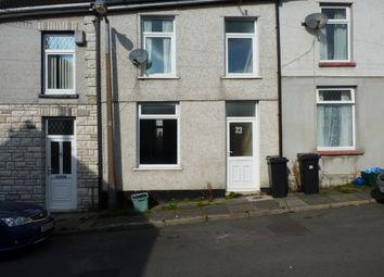 Thumbnail 3 bed terraced house to rent in Dane Street, Merthyr Tydfil