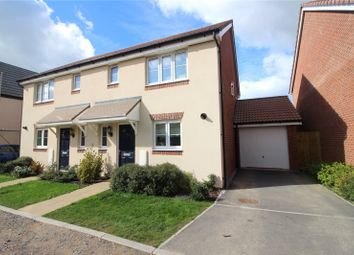 Thumbnail 3 bed semi-detached house for sale in Fulmer Copse, Chivenor, Barnstaple