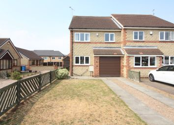 Thumbnail 3 bed semi-detached house for sale in Galway Mews, Harworth, Doncaster
