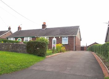 Thumbnail 2 bed semi-detached bungalow to rent in Ostlers Lane, Cheddleton, Leek