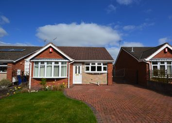 Thumbnail 2 bed detached bungalow for sale in Lugano Close, Westlands, Newcastle