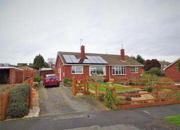 Thumbnail 2 bed semi-detached bungalow for sale in Gillbank Drive, Ratby, Leicester
