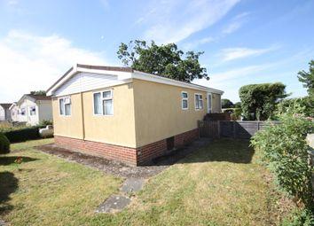 Thumbnail 2 bed mobile/park home for sale in Larch Drive, Crookham Park, Crookham Common, Thatcham