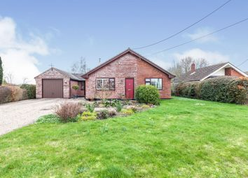 Thumbnail Detached bungalow for sale in Hall Road, Ilketshall St. Andrew, Beccles