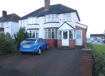 Thumbnail 3 bedroom semi-detached house to rent in Graham Road, Halesowen