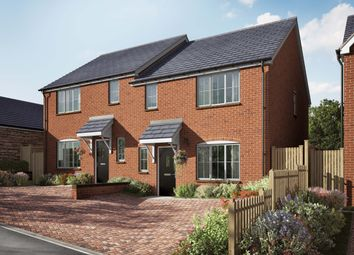 Thumbnail 3 bed semi-detached house for sale in Willow Walk, Lea, Ross-On-Wye, Herefordshire