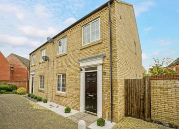 Thumbnail 3 bedroom semi-detached house for sale in Malden Way, Eynesbury, St. Neots