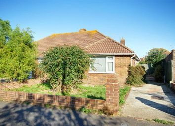 Thumbnail 2 bed semi-detached bungalow for sale in Benedict Drive, Worthing, West Sussex