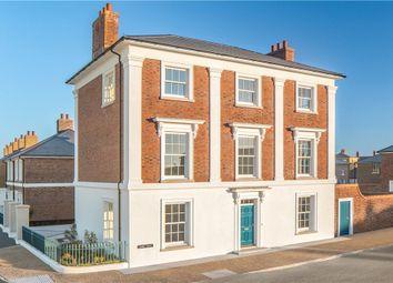 Thumbnail 4 bed detached house for sale in Coade Street, Poundbury, Dorchester, Dorset
