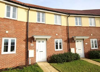 Thumbnail 2 bed terraced house for sale in River Way, Great Blakenham, Ipswich, Suffolk