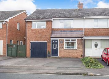 Thumbnail 3 bed semi-detached house for sale in Pinemount Road, Hucclecote, Gloucester, Gloucestershire