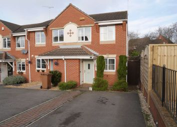 Thumbnail 2 bed end terrace house to rent in Ensor Close, Swadlincote