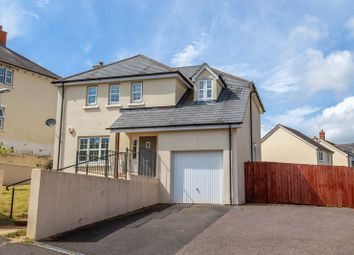 Thumbnail 4 bed detached house for sale in Saxon Close, Crediton