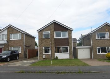 Thumbnail 3 bed detached house for sale in Manor Road, Stilton, Peterborough