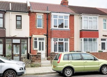 Thumbnail 3 bed terraced house for sale in Locarno Road, Copnor, Portsmouth