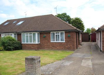 Thumbnail 2 bedroom semi-detached bungalow for sale in Lilian Crescent, Hutton, Brentwood, Essex