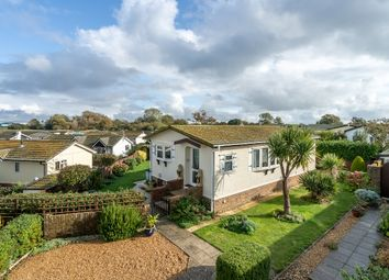 Thumbnail 2 bed mobile/park home for sale in Oaktree Close, Nyetimber, Bognor Regis, West Sussex.