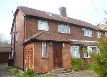 Thumbnail 5 bed semi-detached house to rent in Spring Avenue, Egham