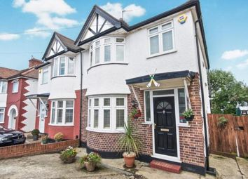 Thumbnail 3 bed semi-detached house for sale in Church Drive, London