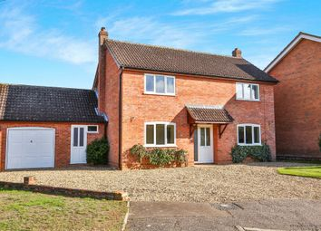 Thumbnail 3 bed detached house for sale in Curson Road, Tasburgh, Norwich