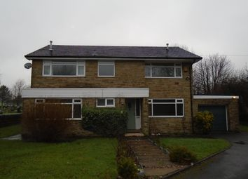 Thumbnail 4 bed detached house to rent in Back Lane, Drighlington