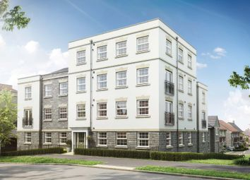 Thumbnail 2 bed flat for sale in Chilver House, Emersons Green, Bristol