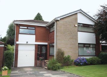 Thumbnail 3 bedroom detached house for sale in Camberley Drive, Bamford, Rochdale