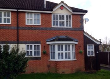 Thumbnail 1 bed terraced house to rent in Dudley Close, Grays, Thurrock