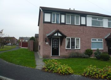 Thumbnail 3 bed semi-detached house to rent in Howard Road, Culcheth, Warrington, Cheshire