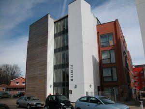 Thumbnail 1 bed flat to rent in Pioneer, Jupiter Complex, 42 Ryland Street, Birmingham