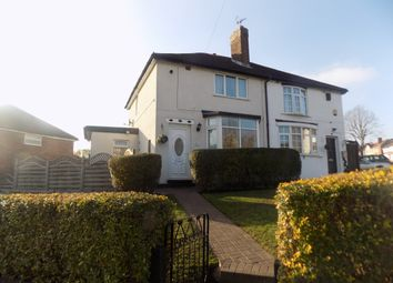 Thumbnail 2 bed semi-detached house for sale in Elliston Avenue, Great Barr, Birmingham