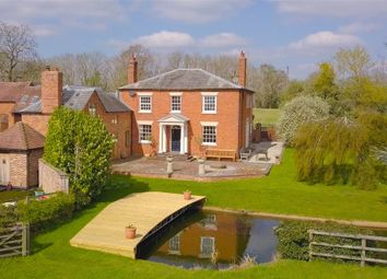 Thumbnail 4 bed detached house for sale in Oddingley Lane, Crowle, Worcester, Worcestershire