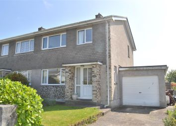 Thumbnail 3 bedroom semi-detached house for sale in Belmont Road, Helston