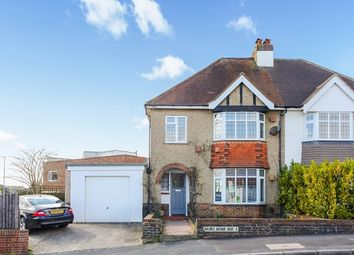 Thumbnail 4 bed semi-detached house to rent in Holmes Avenue, Hove