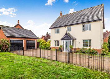Thumbnail Detached house for sale in Mileham Drive, Aylsham, Norwich