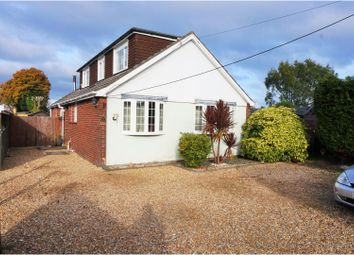 Thumbnail 4 bed detached bungalow for sale in Holbury Drove, Holbury, Southampton