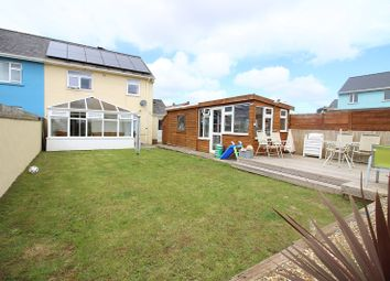 Thumbnail 2 bed semi-detached house for sale in Stranraer Lane, Pennar, Pembroke Dock, Pembrokeshire.