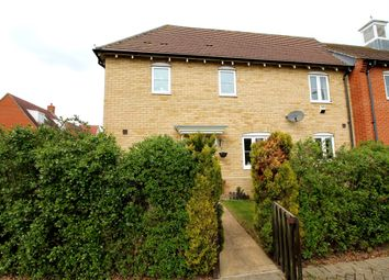 Thumbnail 3 bed semi-detached house for sale in Secundus Drive, Colchester