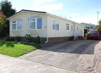 Thumbnail 2 bed mobile/park home for sale in Lodgefield Park, Stafford