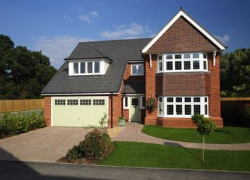 Thumbnail 5 bedroom detached house for sale in Carey Fields, Northampton Lane North, Moulton, Northampton