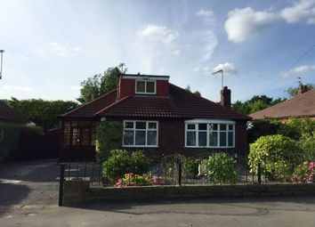 Thumbnail 3 bed bungalow to rent in Westwood Road, Heald Green, Cheadle