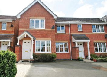 Thumbnail 3 bed town house for sale in Hampton Close, Coalville