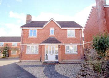 Thumbnail 4 bed detached house to rent in The Birches, Plymouth