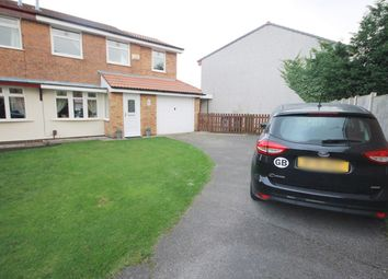 Thumbnail 3 bed semi-detached house for sale in St Bridgets Close, Fearnhead, Warrington