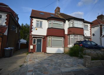 Thumbnail 4 bed semi-detached house to rent in Windermere Avenue, Wembley