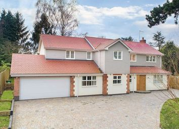 Thumbnail 6 bedroom detached house for sale in Stamford Road, Kirby Muxloe, Leicester