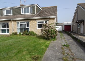 Thumbnail 3 bed semi-detached bungalow for sale in Fulmar Road, Nottage, Porthcawl
