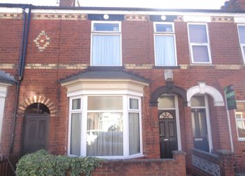 Thumbnail 2 bed terraced house for sale in Raglan Street, Hull